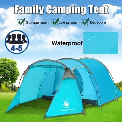 For 8 10 Persons Large Waterproof Arch Tents Portable Folding Family Camping Tent 3 Compartments Design Outdoor Travel Party Tent Buy At A Low Prices On Joom E Commerce Platform