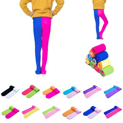 de171ae8a75e Candy Colorful Toddler Kids Girls Pants Velvet Tights Trousers ...