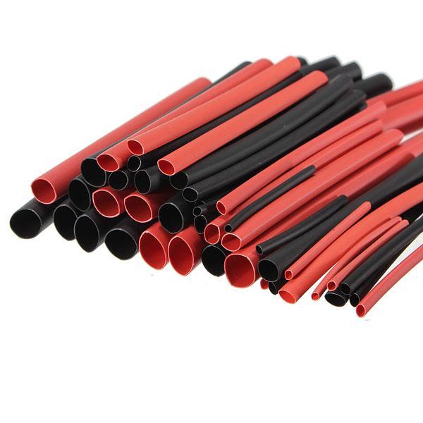 254pcs Heat Shrink Wire Tube Assortiment wrap tube connexion électrique Câble