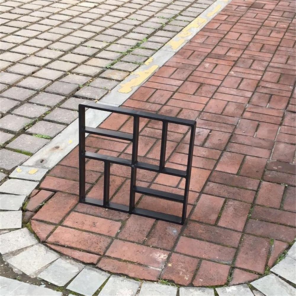 Haus & Garten Diy Terrasse Spaziergang Maker Stepping Stein Beton Fertiger Form Wiederverwendbaren Pfad Maker Form Garten Pflaster Stein Formen 30*30 Cm Diy Form Werkzeug QualitäT Zuerst