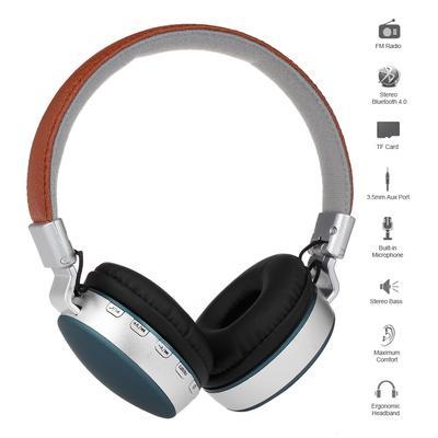 MS-K4 Bluetooth Headphones Earphone Foldable Over Ear Headset TF FM