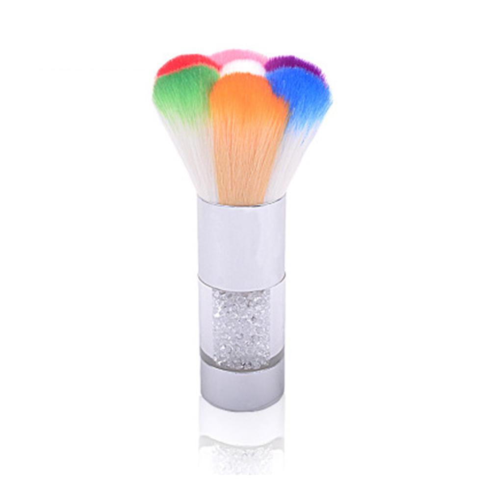 Nail Art Pinsel Acryl Gel Polish Pen Glitter Pulver Staub reinigen ...