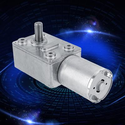 Speeds Reduction Motor,High Torsion Speeds Reduce Electric Gearbox Motor Reversible Worm Gear Metal Motor Reducer with 8mm Shaft 24V 200RPM
