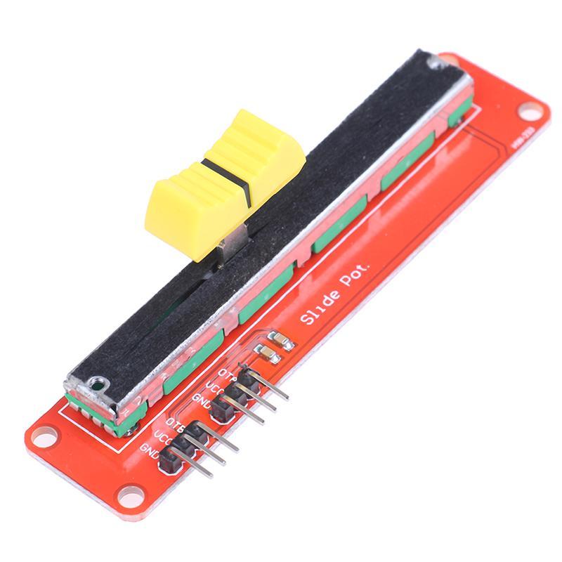 Слайд Potentiometer 10K линейный модуль Двойной выход для Avr электронный блок – купить по низким ценам в интернет-магазине Joom