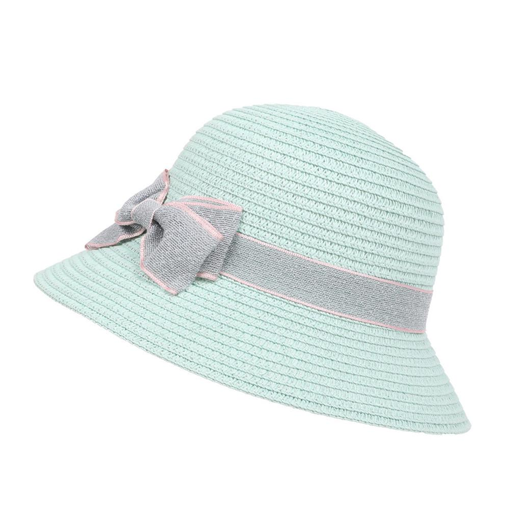 Children Travel Bohemian Hats Beach Sun Hat Basin Caps Brown