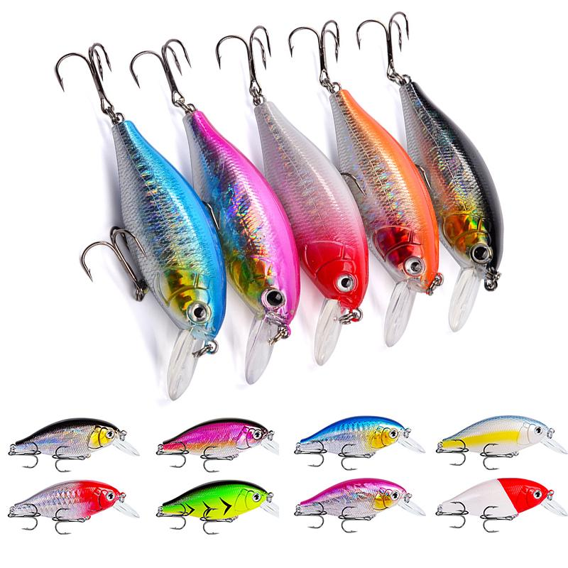 4.5cm 3g Slow Sinking Minnow lures Fishing Tackle Fishing Lures Hard Bait