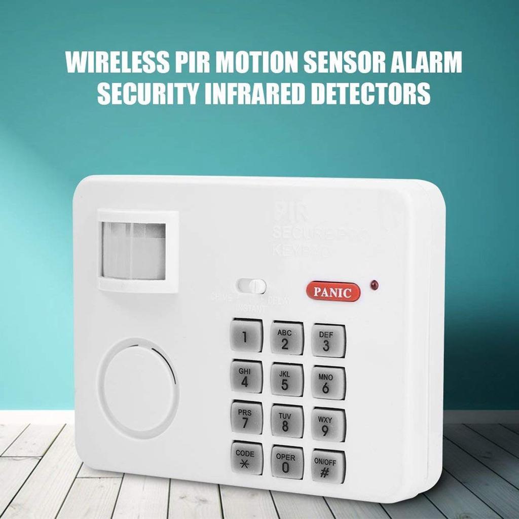 Wireless Alarm Remote Control Vibration Door Sensor Home