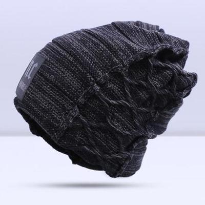 84e1e9a7240 Knitted Hat Men Women All-Match Wool Caps Simple Keep Warm Cap Winter  Fashion Accessories