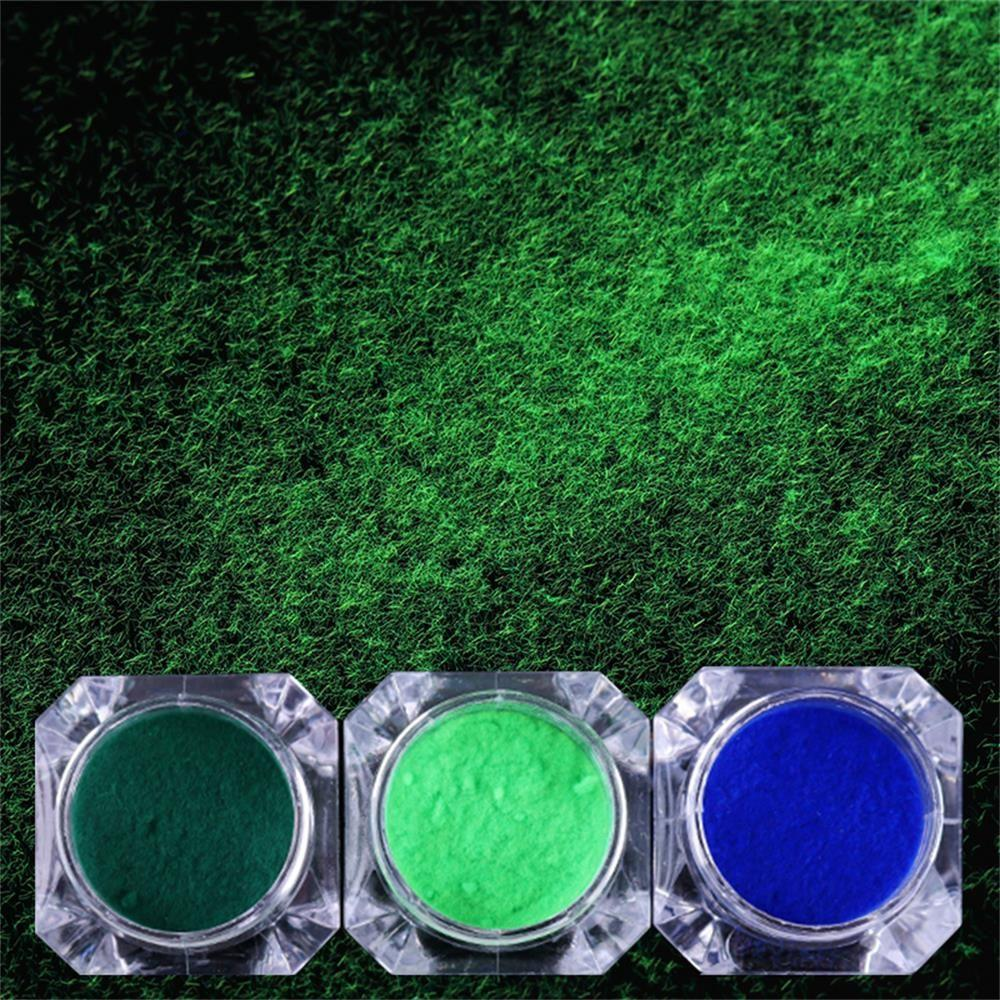 Fuzzy congregación manicura decoración Ultralight pigmento uñas ...