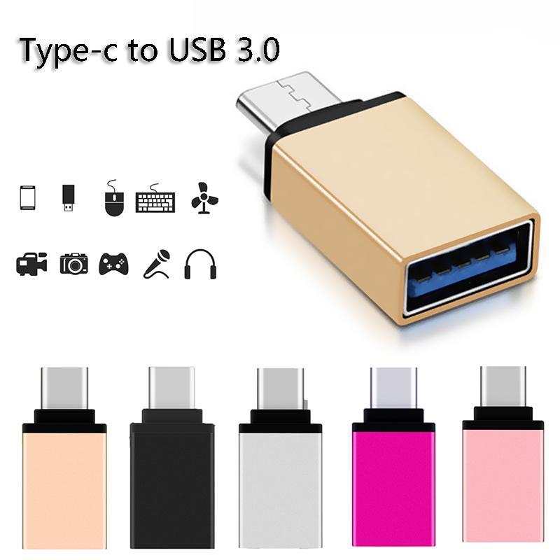 3.0 Usb тип c OTG адаптер мини универсальный женщин конвертер для Mac Nexus 5 X 6P фото