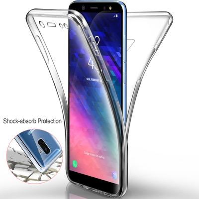 360 Full Body Hard PC Back + Soft TPU Front Phone Case Clear Cover for Huawei 10i Samsung A30s A31 A41 A50s A51 A71 M31 M51 Xiaomi iPhone 12 Pro Max