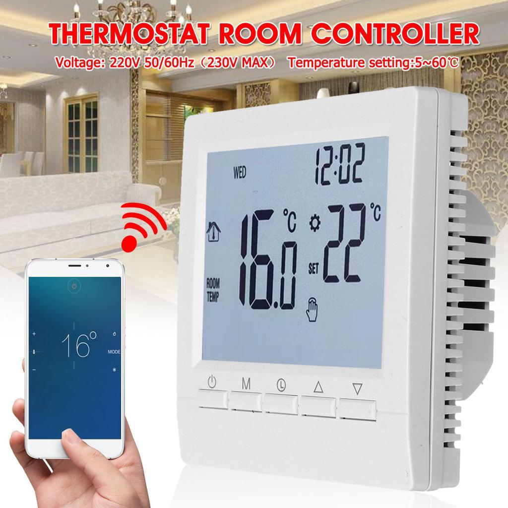 Wifi Wireless Smart Home Thermostat Programmable Room Sensor Digital App Control