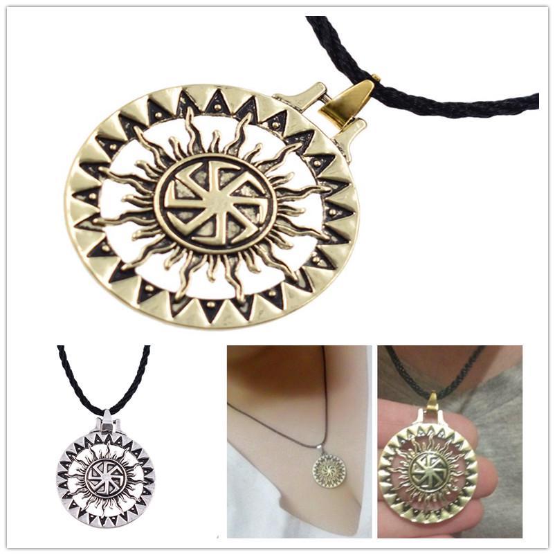 Michael Archange collier pendentif charme Vicking Bijoux Chaîne Cadeau Rétro St