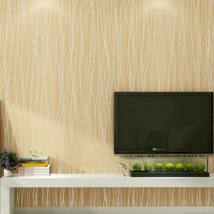 Buy Non Woven Wallpaper Plain Simple Striped Bedroom Living Room Background Wall Paper At Affordable Prices Free Shipping Real Reviews With Photos Joom