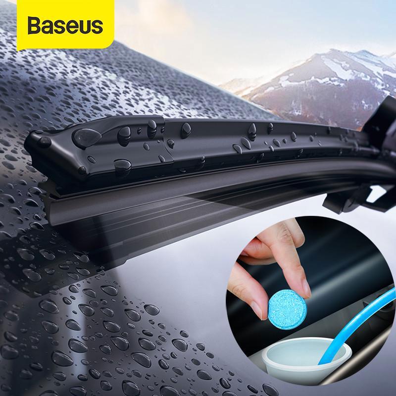 Baseus 12PCS автомобиль твердых wiper Fine Seminoma Wiper Auto Window Clean Car Windshield Стеклоочиститель