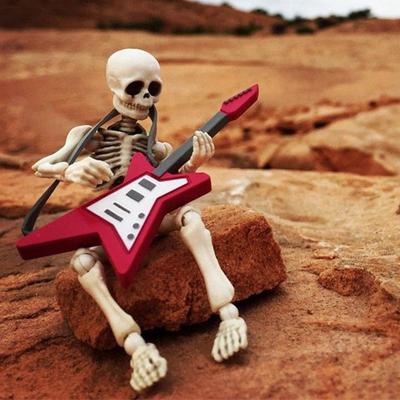 Os Squelette Modèle humain Crâne corps plein Figure Jouet Halloween Mini mobile M