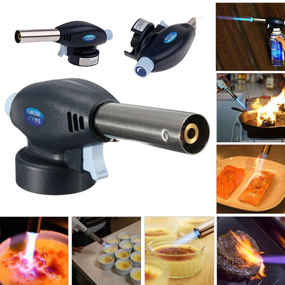 Lighters Small Metal Electronic Igniter for Jewelry Soldering Gas Welding Torch Ignition Built-in Ignition Torch Lighter