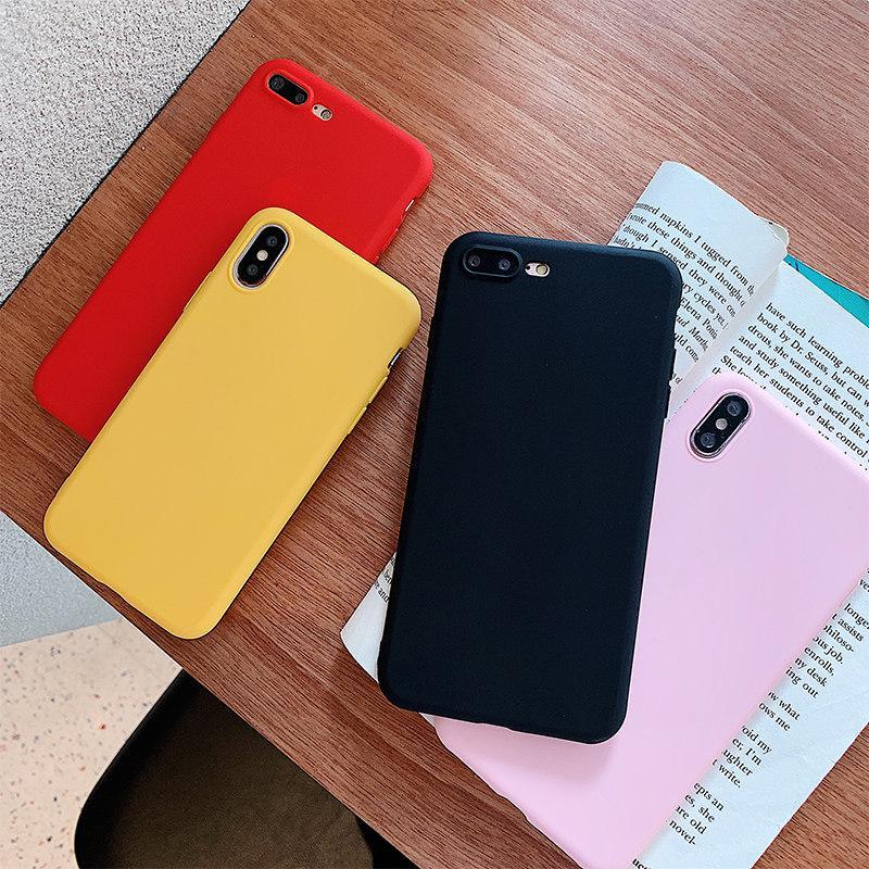 Ультратонкий чехол на заднюю крышку для Samsung Galaxy A30 A50 A20 A40 A10 Huawei Honor 7C 7A iPhone – купить по низким ценам в интернет-магазине Joom
