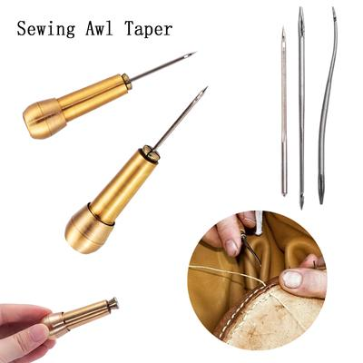Sewing Awl For Leather Craft Fabric Awning Sails Tent Repair Tool G5L1