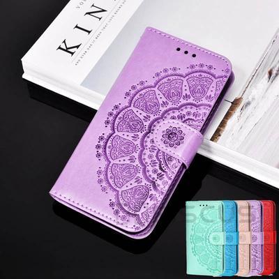 3D Datura Wallet Case for Samsung A 52 72 32 12 02 S 51 31 21 10 01 11 71 50 21 M S21 S20 Plus S9 S10 Redmi Note 9T 9 Pro 8 8T 9A 9C NFC 7 7A Poco M3