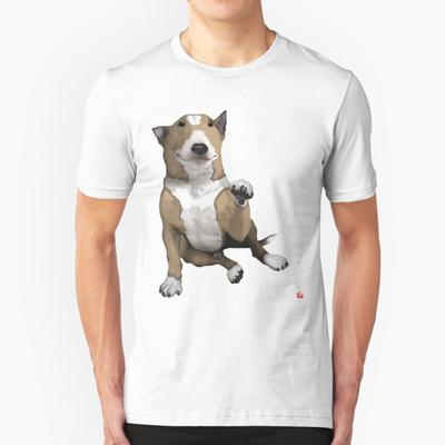 bull staffordshire jack russell terrier | Cross stitch