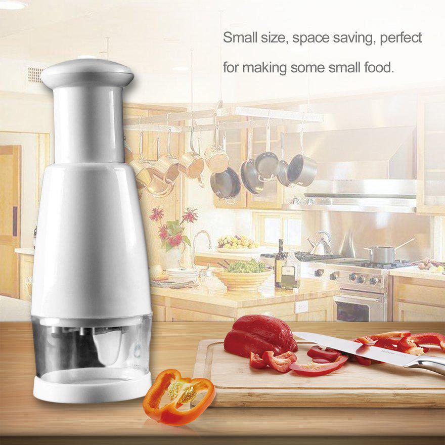 XSmile Полуавтоматический кухонный нож из нержавеющей стали для резки овощей и измельчителя лука – купить по низким ценам в интернет-магазине Joom