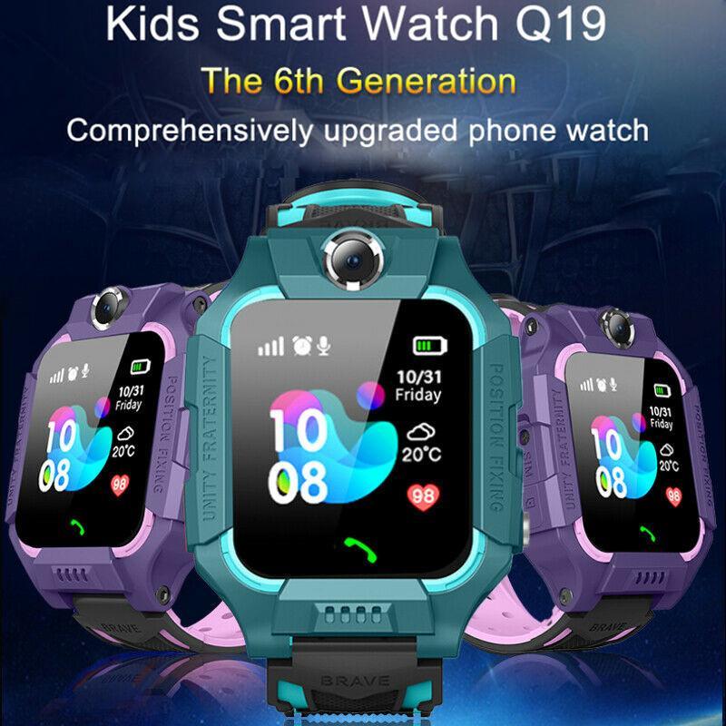 Anti Потерянный ребенок GPS Tracker SOS Call GSM SIM Smart Мониторинг Позиционирование Телефон Дети Baby Watch