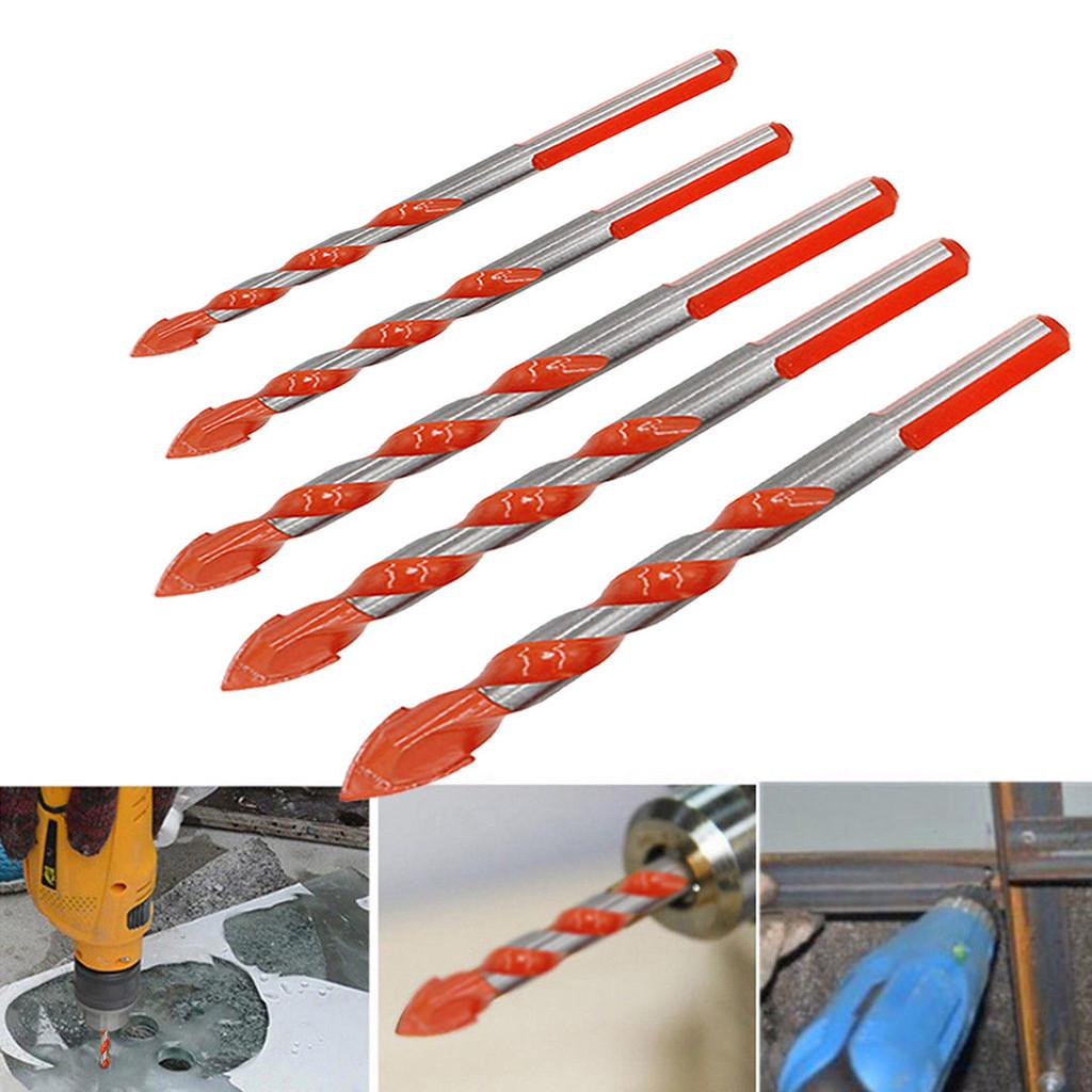 7Pcs Multifunctional Drill Bits Ceramic Glass Punching Hole Working Set Tools