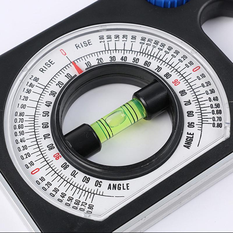 Multifunctional Sloper Angle Measuring Tool Sloper Angle Finder Measuring Tool Engineering Slope Ruler Digital Level Slope Inclinometer Universal Slope Measuring Ruler