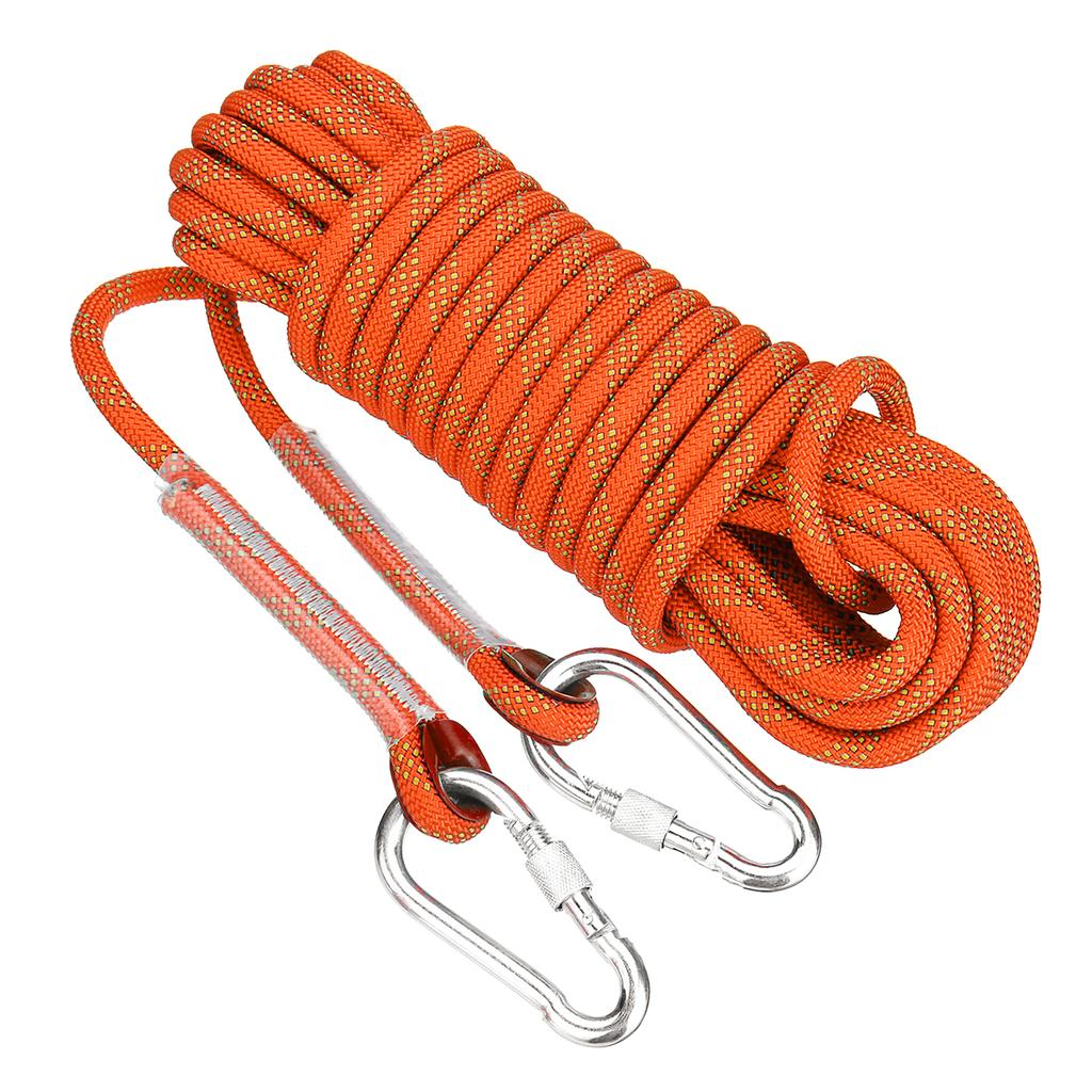 10M 12KN Static Rescue Rope Rock Climbing Rappelling Tree Arborist Cord   # *
