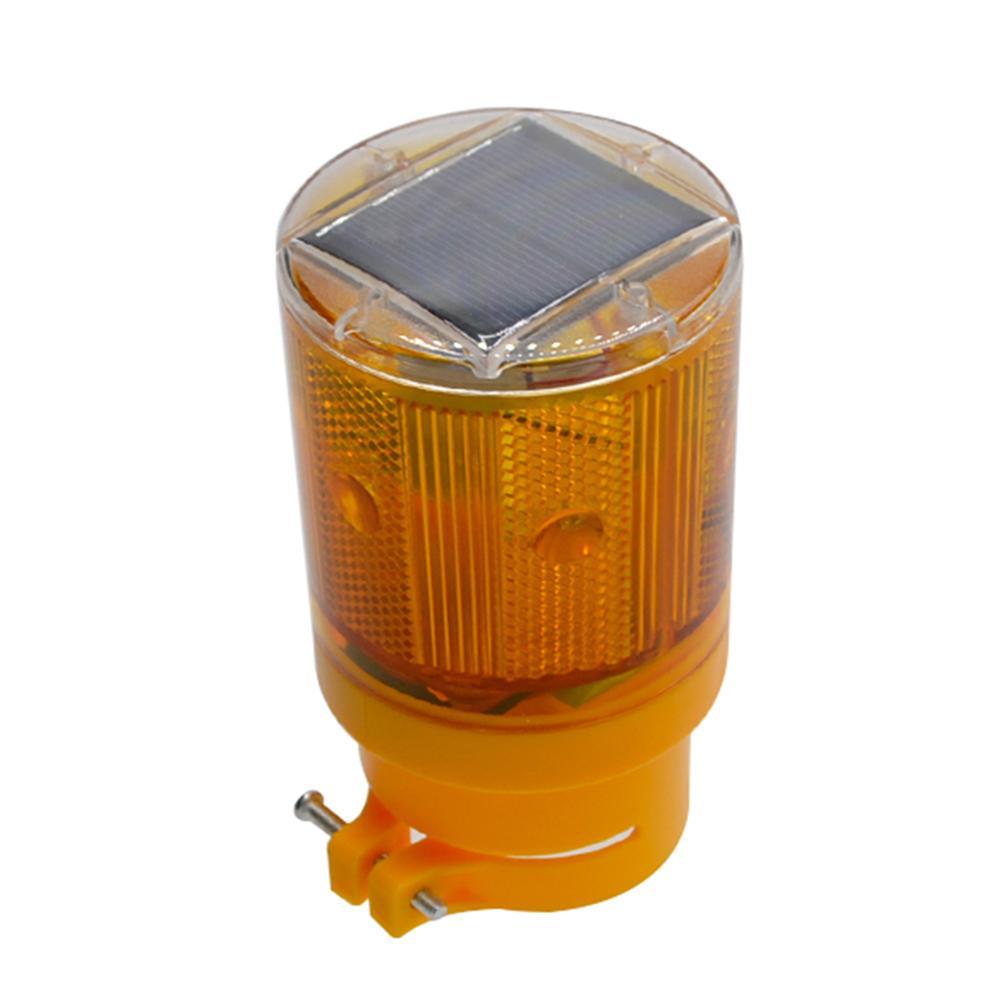Solar 6LED Alarm Warning Security Anti-Theft Flashing Light Sensor Garden Lamp##