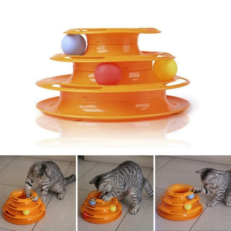Творческие и смешные кошки животное игрушки кошки игрушки разведки Triple Play диск Cat игрушка шары фото