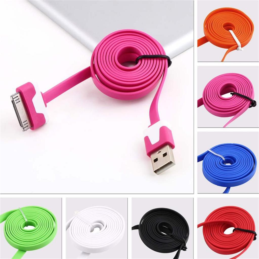 Charging Cable Round USB Data Cable Can Be Charged and Data Transmission Synchronous Fast Charging Cable-Photo of Green Viper