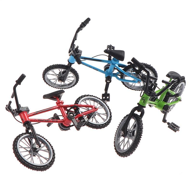 1Pc Mini House Model Simulation Bike Mountain Cycle Miniature Decoration Prop