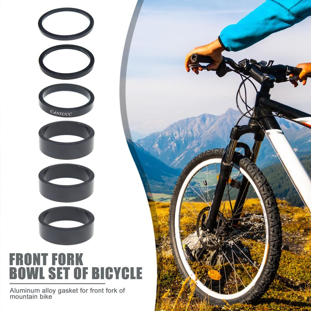 5pcs Aluminium Alloy Stem Washer Spacer Bicycle Bike Headset Fork 2//3//5mm DIY