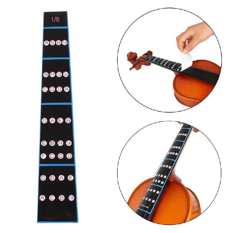 Praxis Violine Geige Finger Guide Griffbrett Aufkleber Label ...