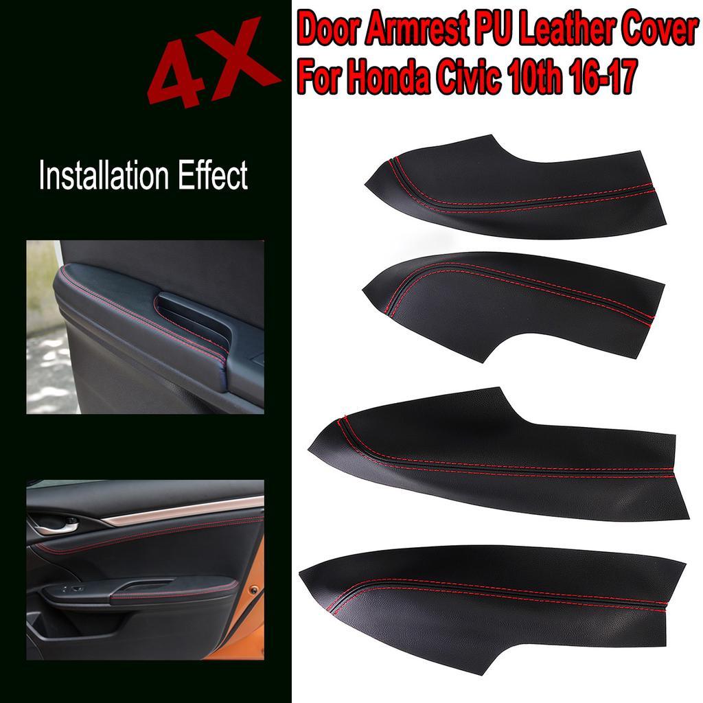 Black Center Console Armrest Lid Leather Clothe Armrest Lid Cover Skin Leather Part for Dodge RAM 2002-2008