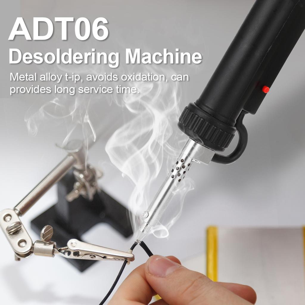 7pcs Soldering Kit Set Solder Cord Desoldering Pump Paste Flux Cutters Tweezer