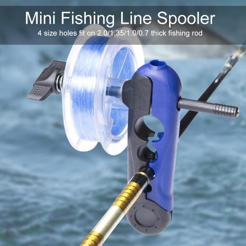 Portable Fishing Line Spooler  Various Sizes Rod Line Spool  Reel Winder Board