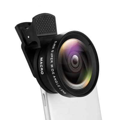 Phone Mobile Universal Wide 0.45X 12.5X Angle HD Macro Lens for iPhone Android