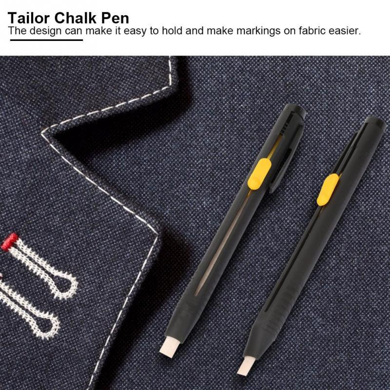 3PC Cut-free Sewing Tailor/'s Chalk Pencils Fabric Marker Pen Garment Accessories