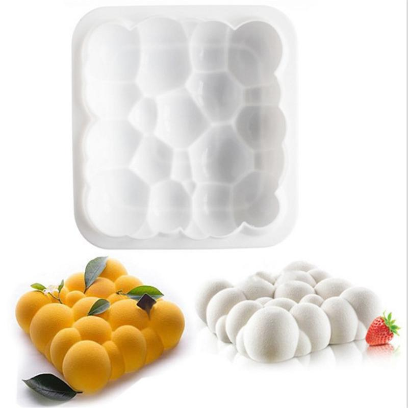 Silicone cake mould 6 and cloud mould pudding mould jelly mould mousse mould