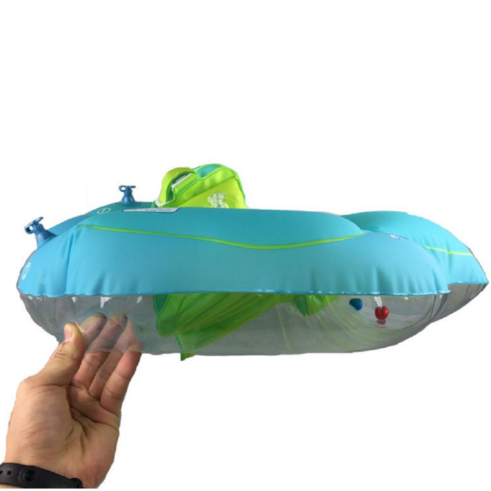 Baby Kids Inflatable Float Swimming Ring Swim Trainer Safety Aid Pool Water Toys