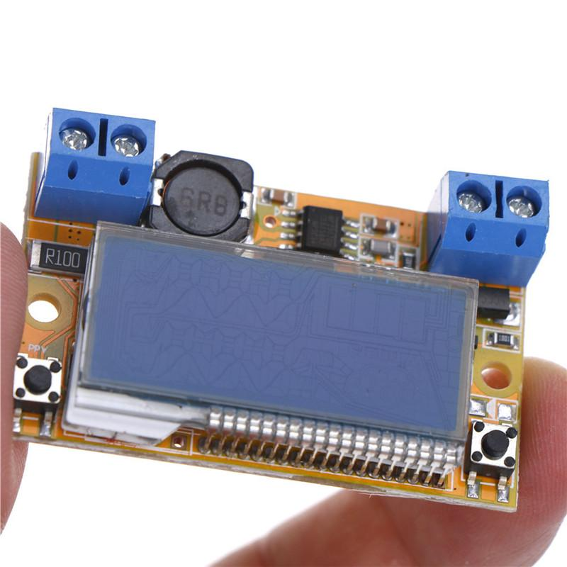 DC-DC 5-23V To 0-16.5V 3A Adjustable Step-down Power Supply Module LCD`Regulator
