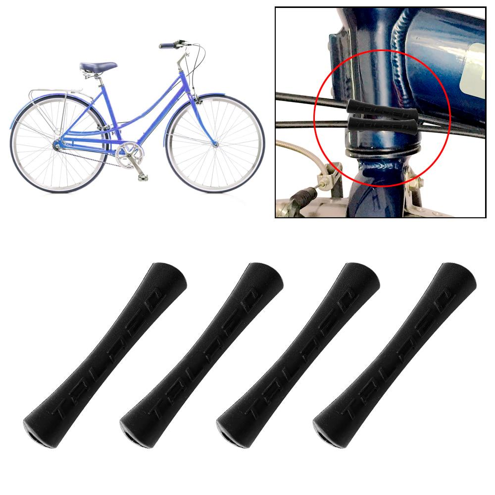 10pcs Bicycle Sleeve Rubber Cable Protector For Pipe Line Tube Brake Shift.rd