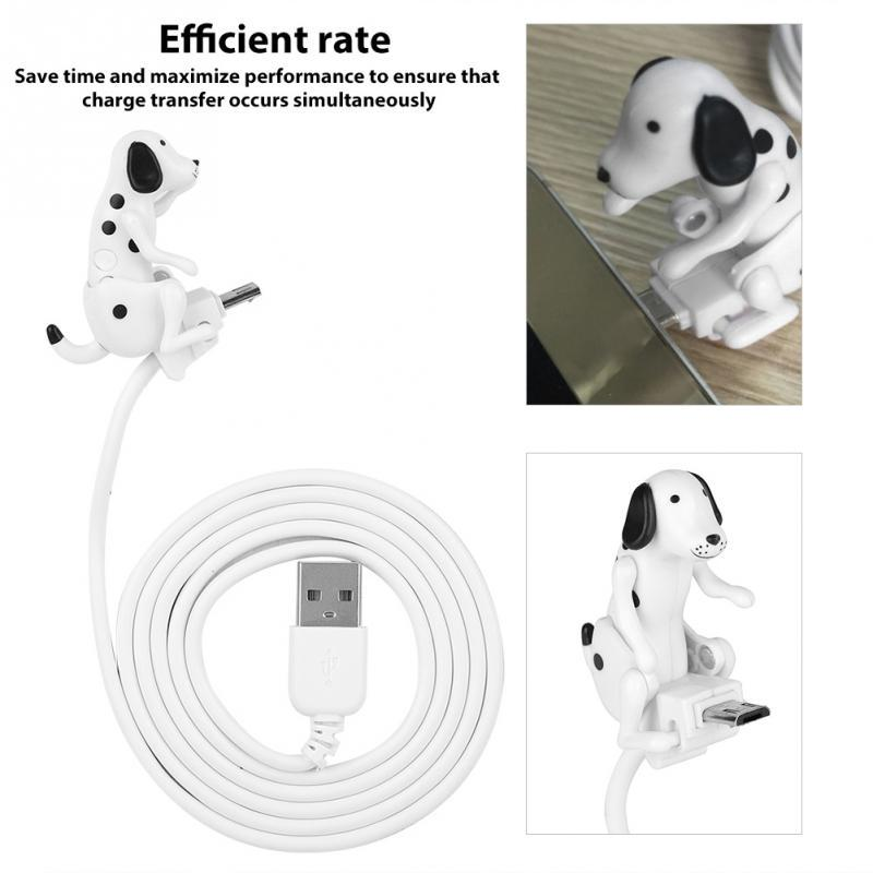 Mini Humping Spot Dog Toy Smartphone Cable Charger Data 1M Charging Line