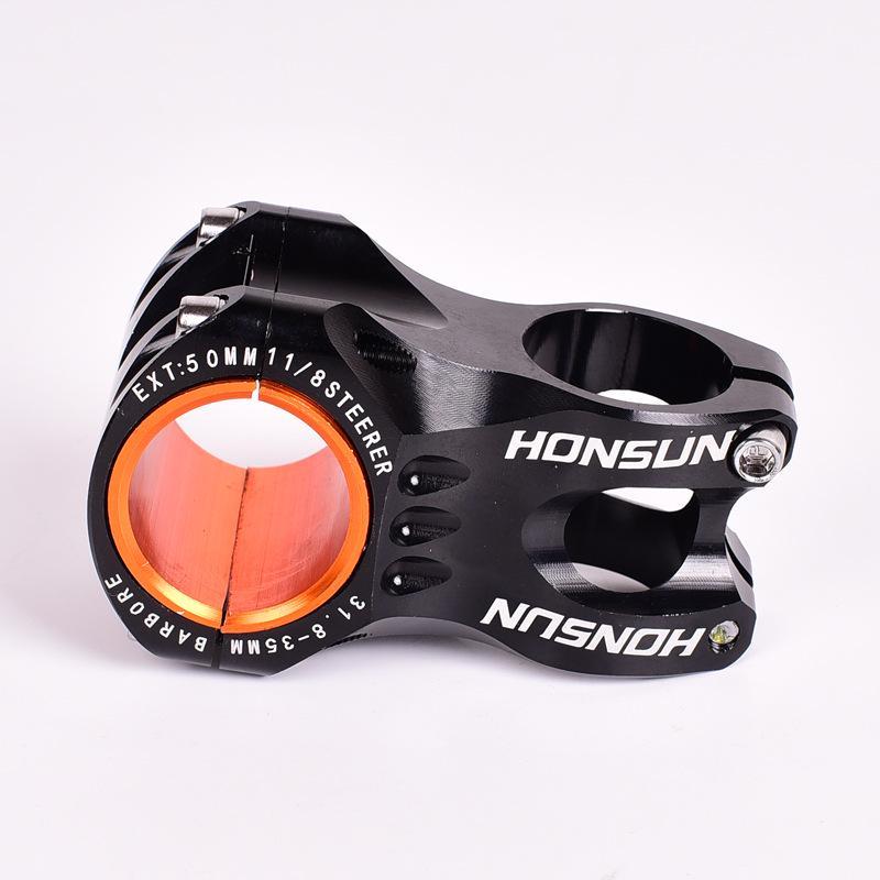 HONSUN Aluminum Handlebar Stems 31.8//35*50 Mountain MTB Road Bike bar Short Stem