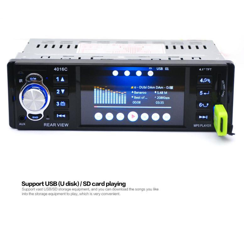 Car DVD MP5 Player 4 1 HD In Dash Stereo FM Radio USB SD Vehicle  Reverse-buy at a low prices on Joom e-commerce platform