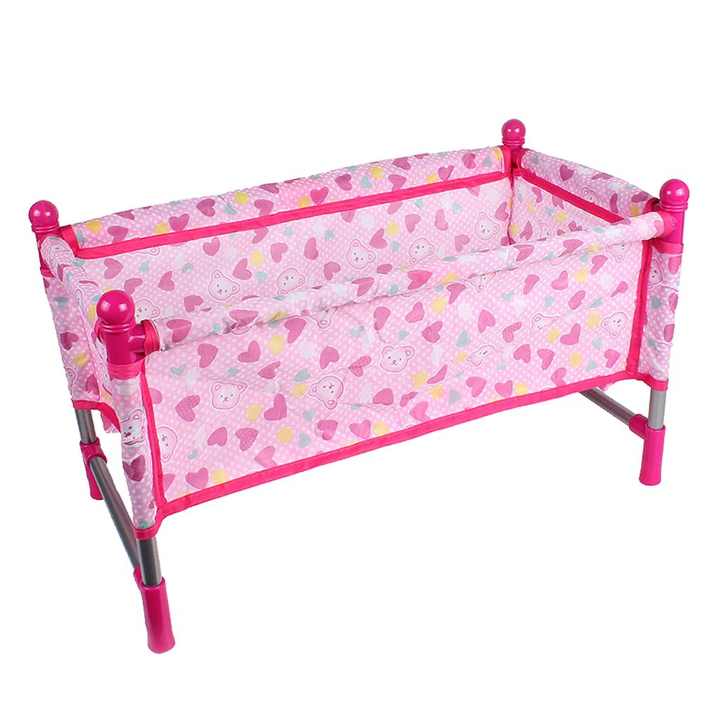 1set Reborn Doll Bed Baby Toddler Crib Play House Toys Accs Buy At A Low Prices On Joom E Commerce Platform