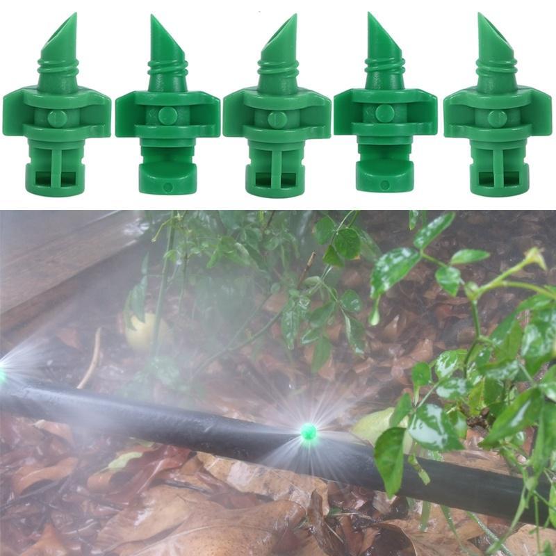40m Bewässerungssystem Tropfer Gartenpflanze Gewächshaus Sprinklerbewässerung